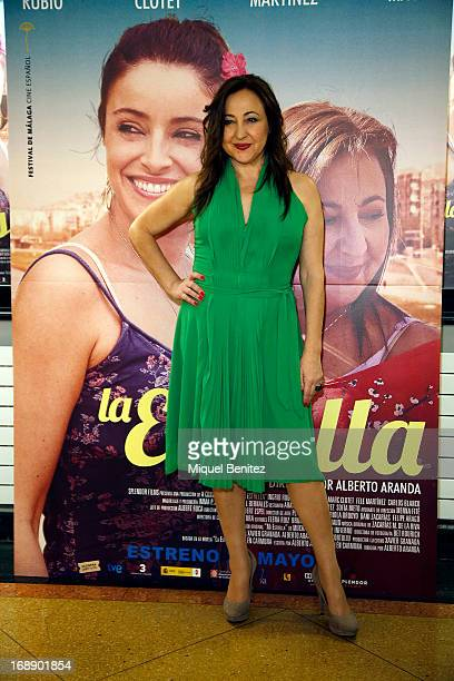 Actress Carmen Machi attends the premiere of 'La Estrella' on May 16 2013 in Barcelona Spain