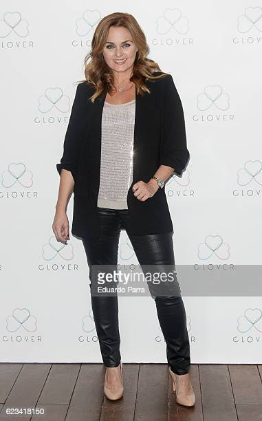 Actress Carmen Morales attends the 'Clover' photocall at Oscar hotel on November 15 2016 in Madrid Spain