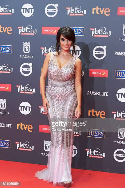 Actress Carmen Munoz attends the Platino Awards 2017 photocall at the La Caja Magica on July 22 2017 in Madrid Spain