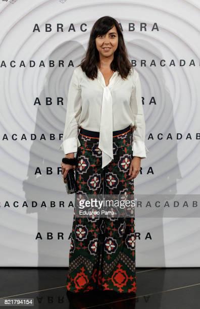 Actress Carmen Ruiz attends the 'Abracadabra' premiere at Palacio de la Prensa cinema on July 24 2017 in Madrid Spain