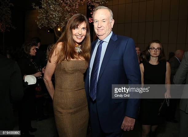 Actress Carol Alt and Fox News anchor Bill O'Reilly attend The Hollywood Reporter's 5th Annual 35 Most Powerful People in New York Media on April 6...