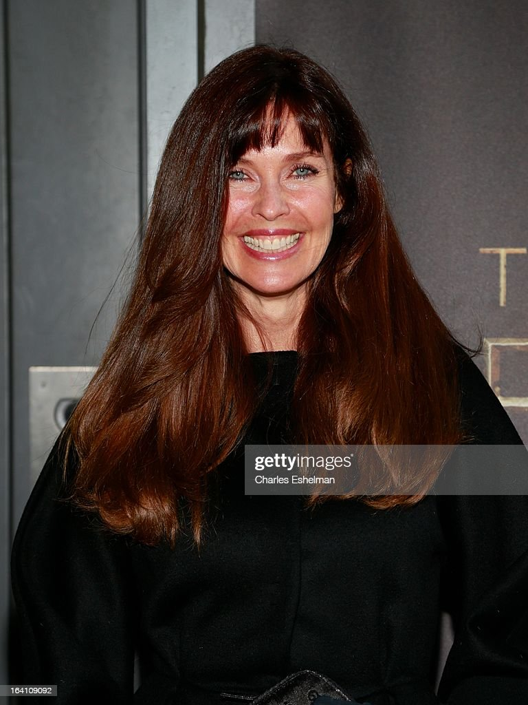 Actress Carol Alt attends 'The Bible Experience' Opening Night Gala at The Bible Experience on March 19, 2013 in New York City.