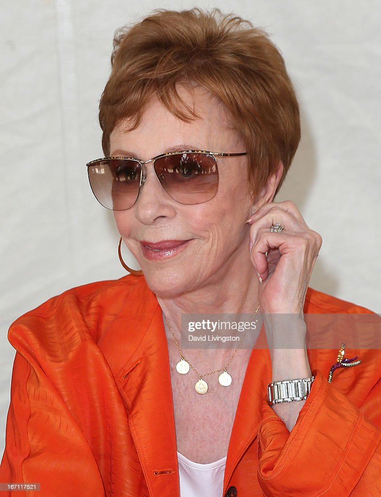 Actress <a gi-track='captionPersonalityLinkClicked' href=/galleries/search?phrase=Carol+Burnett&family=editorial&specificpeople=206201 ng-click='$event.stopPropagation()'>Carol Burnett</a> attends the 18th Annual Los Angeles Times Festival of Books - Day 1 at the University of Southern California on April 20, 2013 in Los Angeles, California.