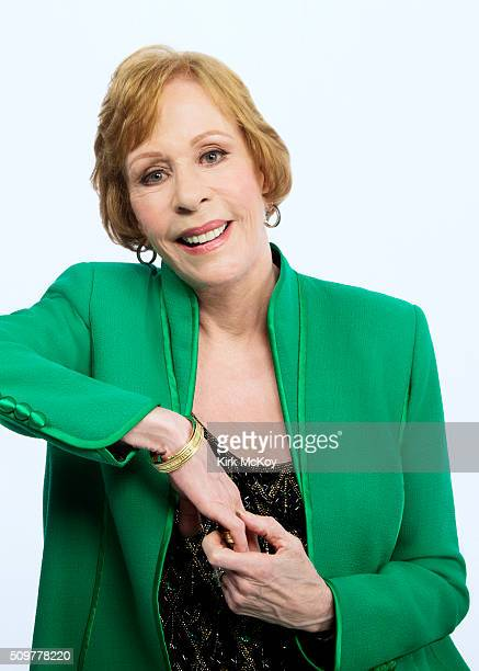 Actress Carol Burnett poses for a portraits at the 22st Annual Screen Actors Guild Awards for Los Angeles Times on January 30 2016 in Los Angeles...