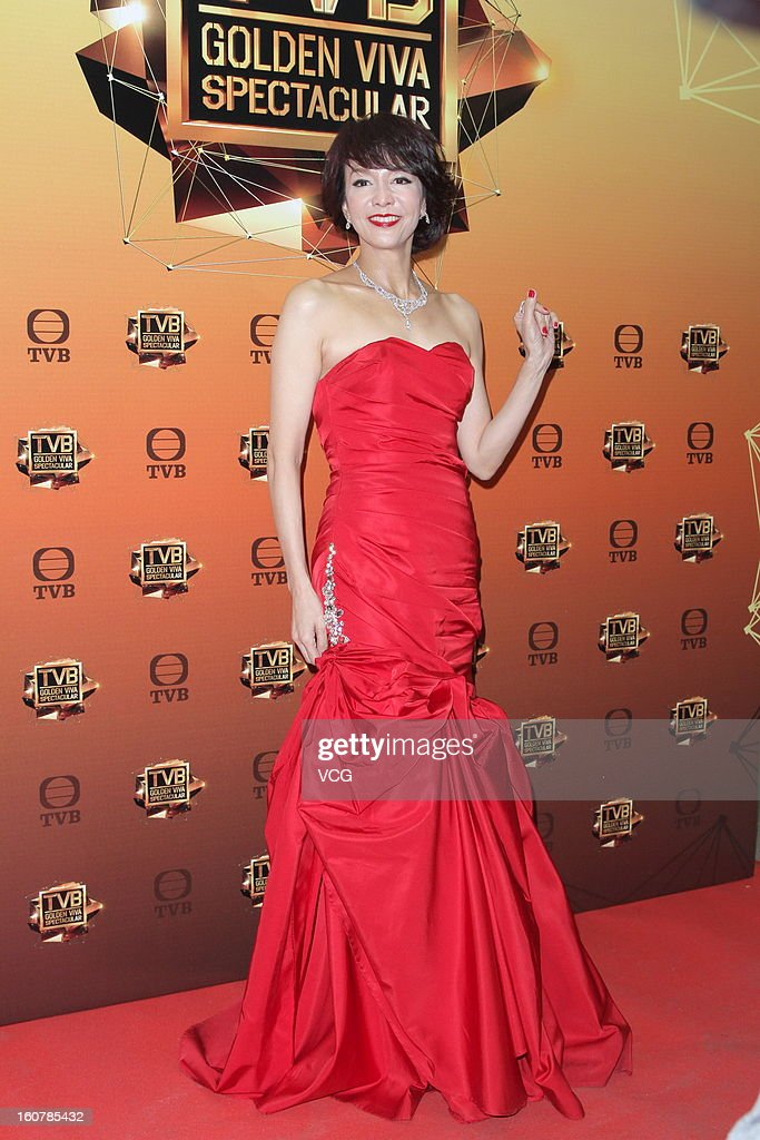 Actress Carol Cheng attends TVB Golden Viva Spectacular at TVB City on February 5, 2013 in Hong Kong.