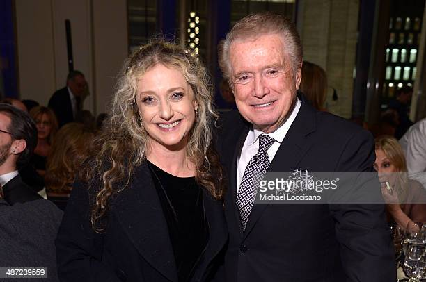 Actress Carol Kane and honoree Rob Reiner attend the 41st Annual Chaplin Award Gala dinner at Avery Fisher Hall at Lincoln Center for the Performing...