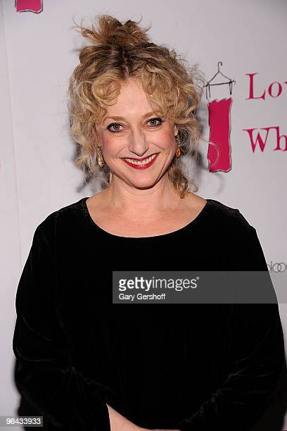 Actress Carol Kane attends the 'Love Loss and What I Wore' new cast member celebration at Marseille on February 4 2010 in New York City