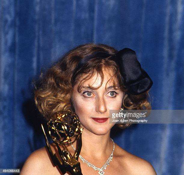 Actress Carol Kane wins award for Outstanding Supporting Actress in a Comedy Variety or Music Series Taxi at the 35th Annual Primetime Emmy Awards...