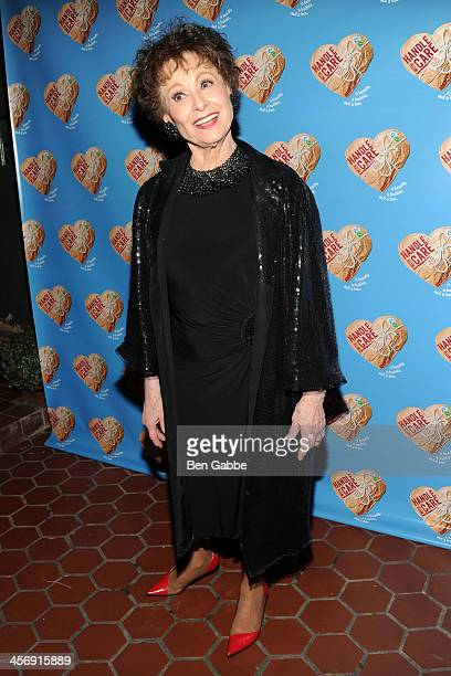 Actress Carol Lawrence attends 'Handle With Care' Broadway opening night after party on December 15 2013 in New York City
