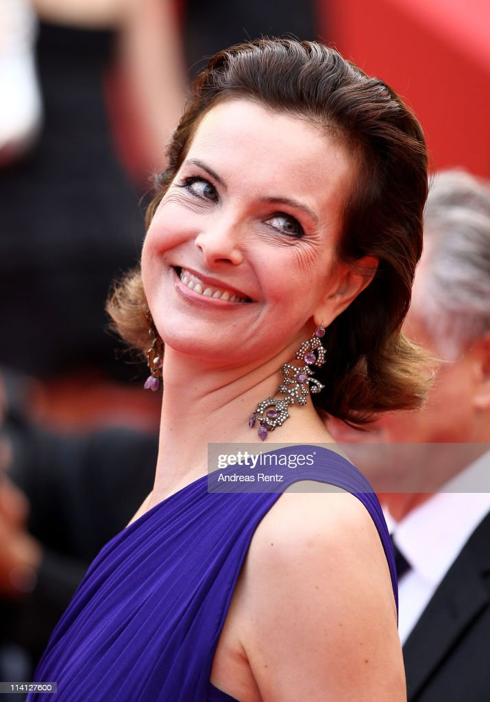 Actress <a gi-track='captionPersonalityLinkClicked' href=/galleries/search?phrase=Carole+Bouquet&family=editorial&specificpeople=208685 ng-click='$event.stopPropagation()'>Carole Bouquet</a> arrives at the 'Sleeping Beauty' premiere during the 64th Annual Cannes Film Festival at the Palais des Festivals on May 12, 2011 in Cannes, France.