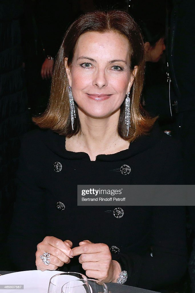 Actress Carole Bouquet attends the 'Nuit De La Chine' - Opening Night at Grand Palais on January 27, 2014 in Paris, France.