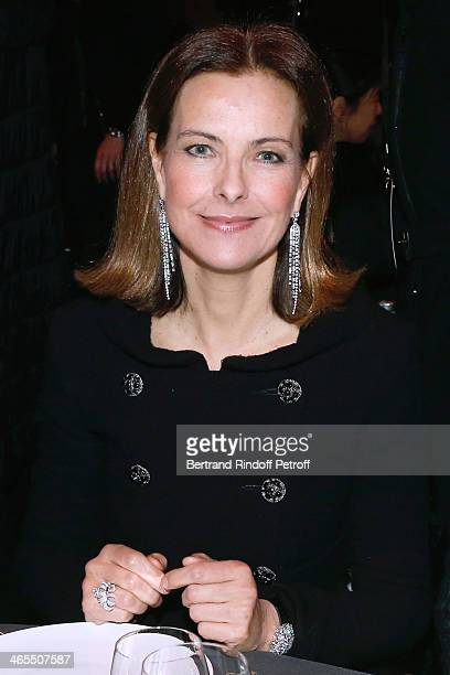 Actress Carole Bouquet attends the 'Nuit De La Chine' Opening Night at Grand Palais on January 27 2014 in Paris France