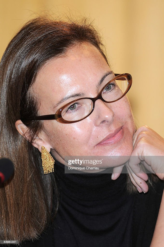 Actress Carole Bouquet attends the UNESCO/Bilbao Prize for the Promotion of a Culture of Human Rights on December 10, 2008 in Paris, France.