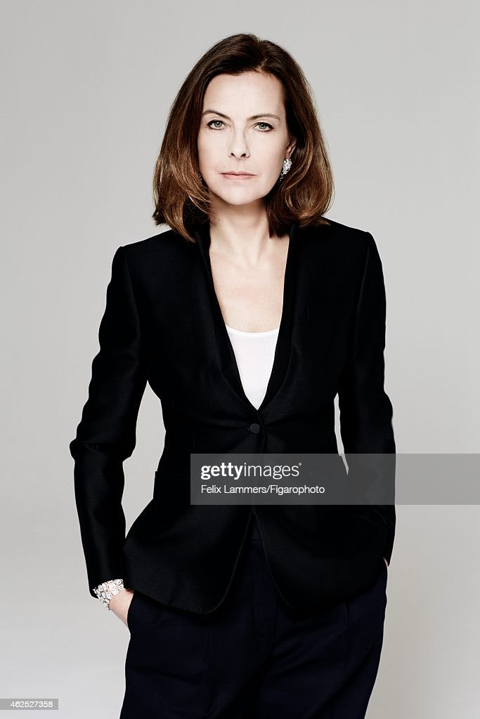 Actress <a gi-track='captionPersonalityLinkClicked' href=/galleries/search?phrase=Carole+Bouquet&family=editorial&specificpeople=208685 ng-click='$event.stopPropagation()'>Carole Bouquet</a> is photographed for Madame Figaro on December 22, 2014 in Paris, France. Jacket (Valentino), tank top (Majestic), pants (Stella McCartney), earrings and cuff (Chanel Joaillerie).