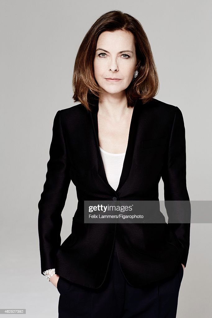 Carole Bouquet, Madame Figaro, January 9, 2015  Getty Images