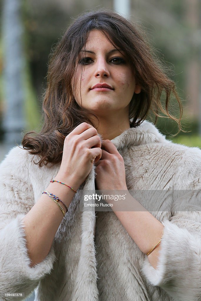 Actress Carole Combes attends the 'Apres Mai' photocall at Casa del Cinema on January 14, 2013 in Rome, Italy.