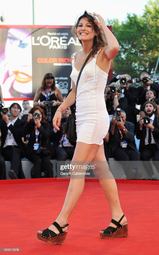 Actress Carole Combes attends the Award Ceremony during The 69th Venice Film Festival at the Palazzo del Cinema on September 8, 2012 in Venice, Italy.