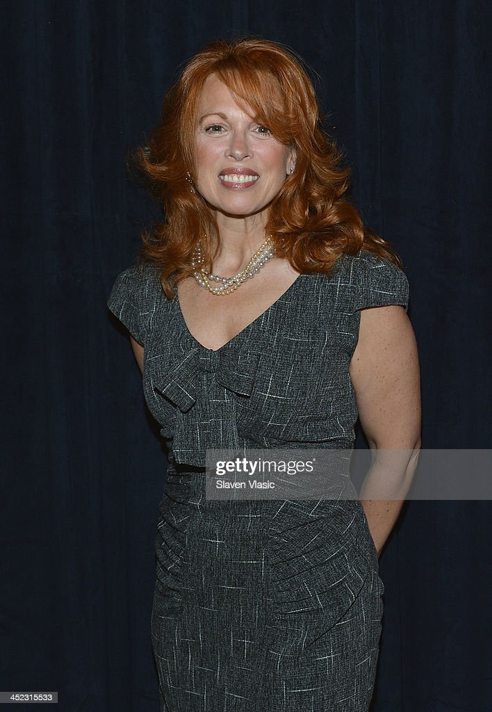 Actress Carolee Carmello attends press launch of Broadway Classics at Carnegie Hall at Manhattan Concert Productions Studio on November 27, 2013 in New York City.
