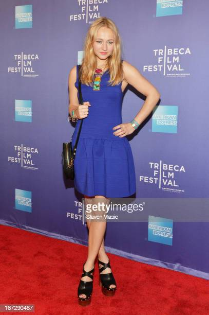 Actress Carolien Spoor attends Tribeca Talks After The Movie 'Tricked' during the 2013 Tribeca Film Festival on April 23 2013 in New York City