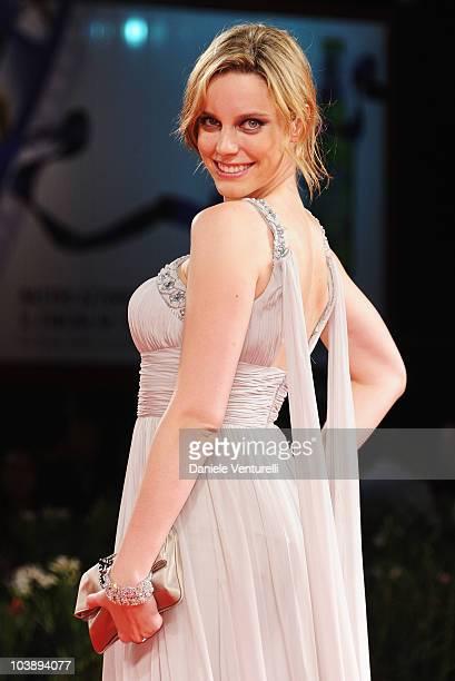 Actress Carolina Bang attends the 'Balada Triste De Trompeta ' premiere at the Palazzo del Casino during the 67th Venice International Film Festival...