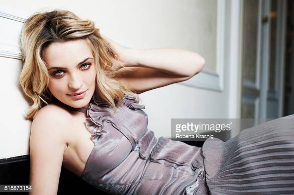 Actress Carolina Crescentini is photographed for Self Assignment on November 10 2013 in Rome Italy