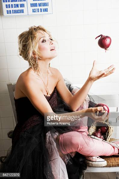 Actress Carolina Crescentini is photographed for Self Assignment on September 18 2010 in Rome Italy