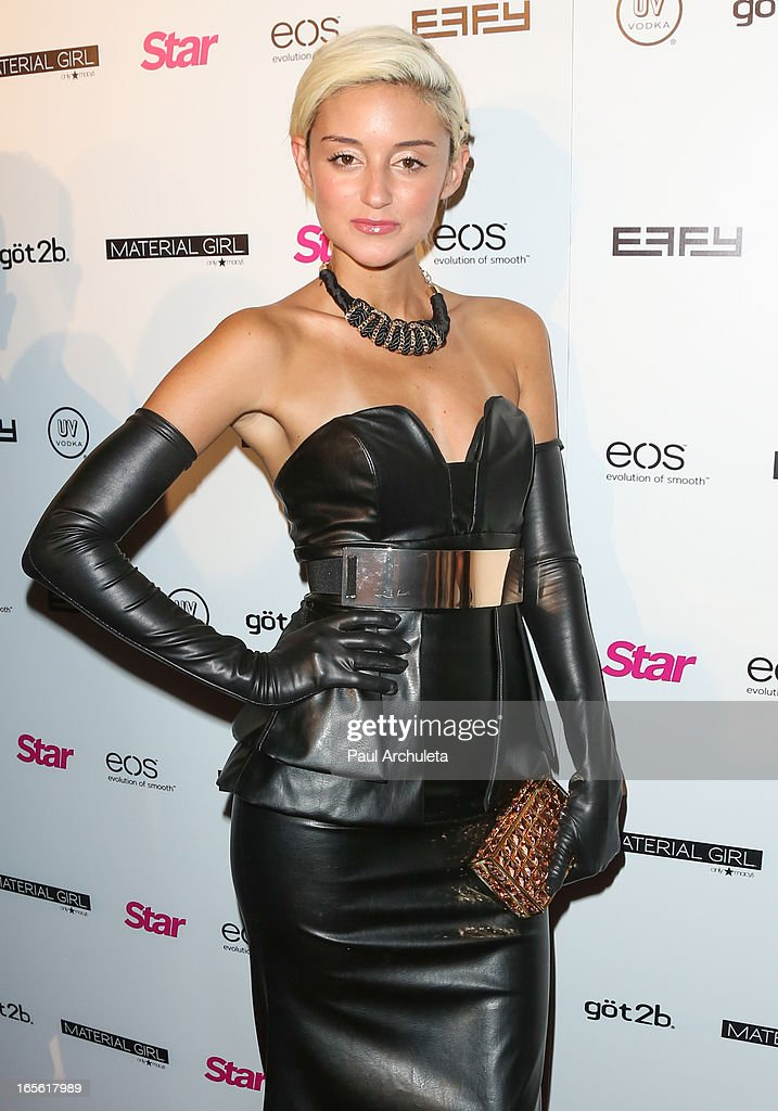 Actress Carolina D'Amore attends Star Magazine's 'Hollywood Rocks' party at Playhouse Hollywood on April 4, 2013 in Los Angeles, California.