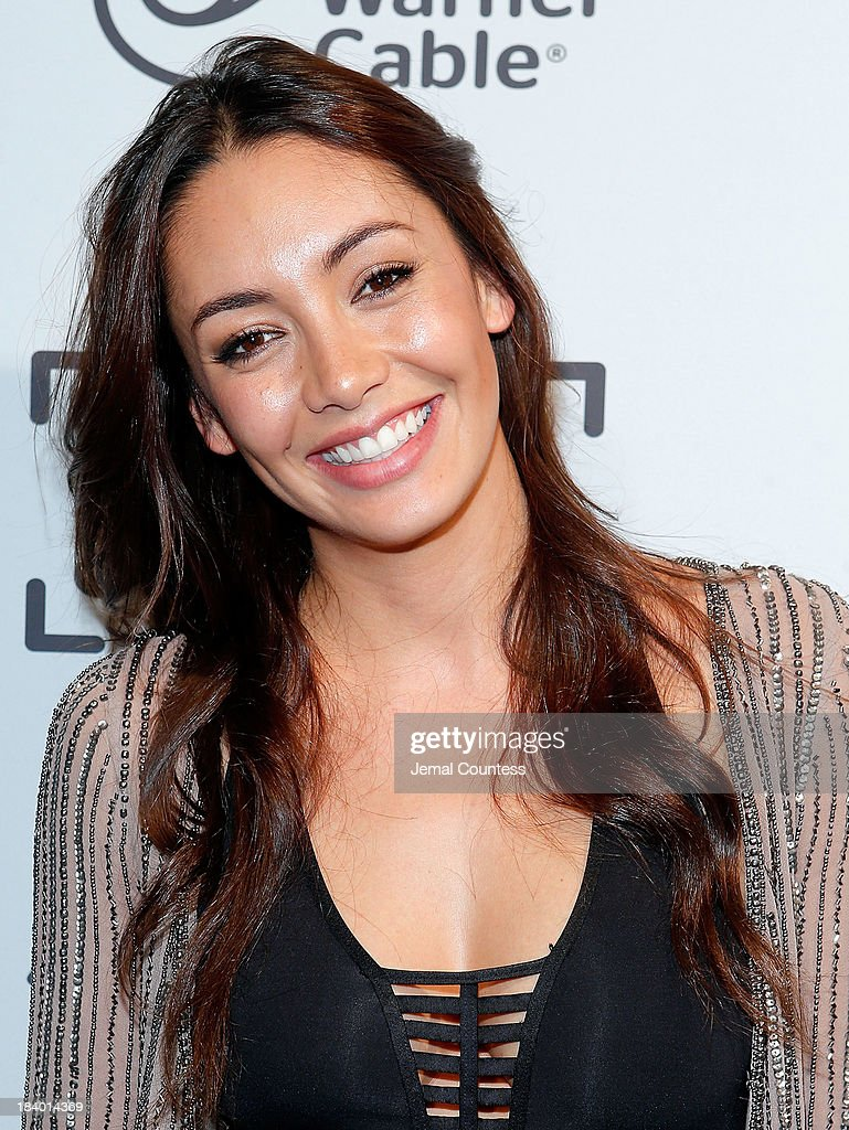 Actress Carolina Guerra of the show 'Da Vinci's Demons' attends the Starz Sleep No More Event at The McKittrick Hotel on October 10, 2013 in New York City.