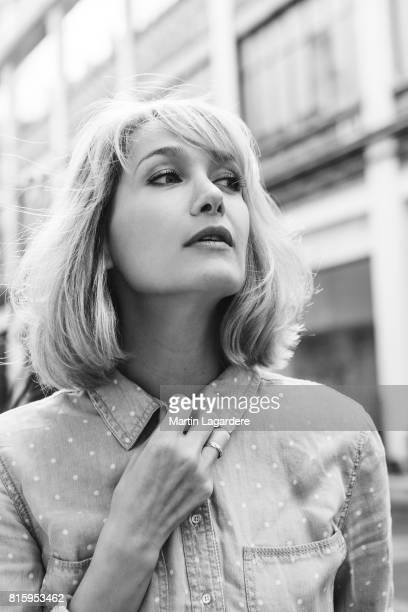 Actress Caroline Anglade is photographed for Self Assignment on March 22 2017 in Paris France
