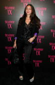 Actress Caroline D'Amore arrives at the Belvedere IX Launch Party on February 5 2009 in Hollywood California