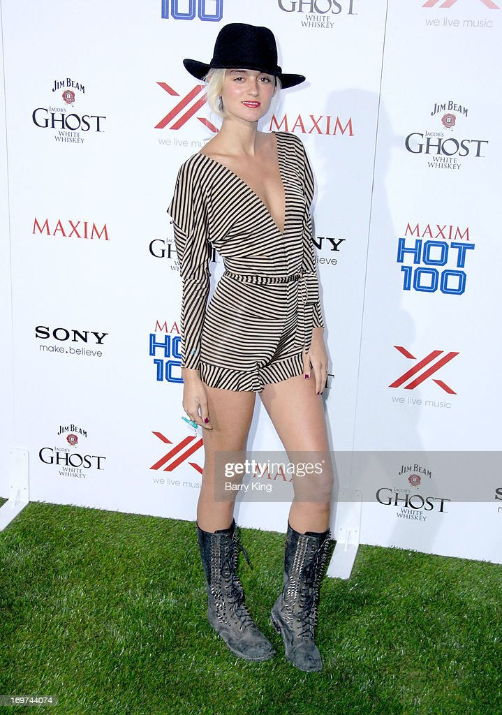 Actress Caroline D'amore arrives at the Maxim 2013 Hot 100 Party held at Create on May 15, 2013 in Hollywood, California.