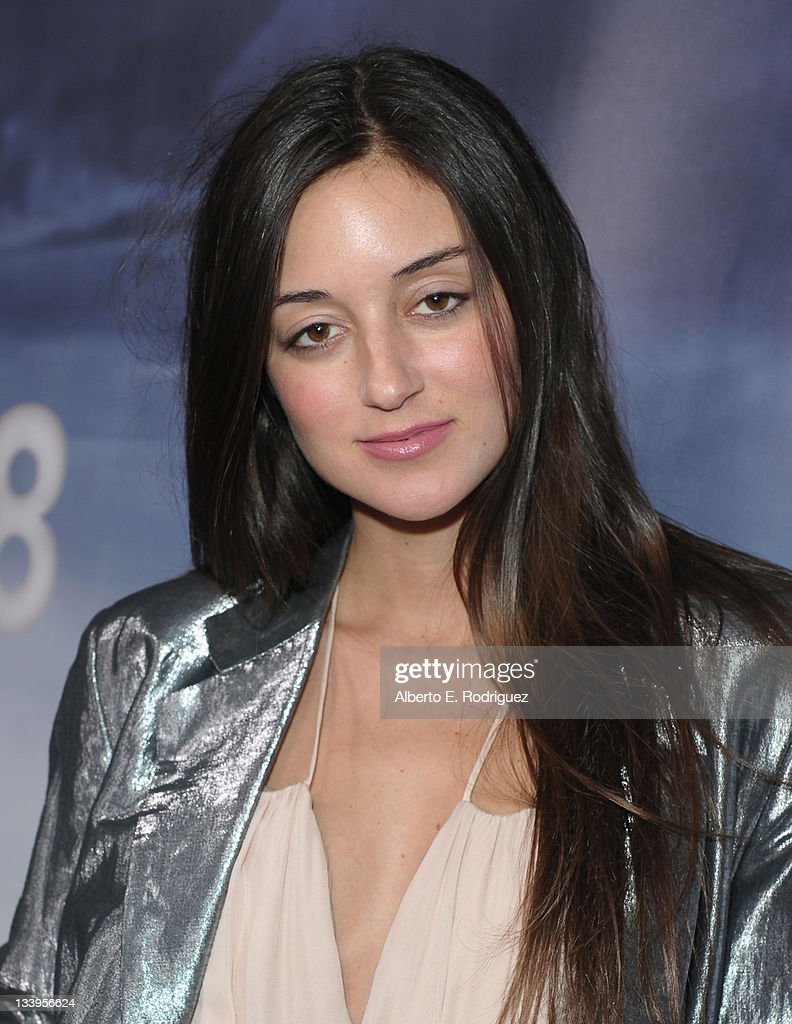 Actress Caroline D'Amore arrives to Paramount Pictures' 'Super 8' Blu-ray and DVD release party at AMPAS Samuel Goldwyn Theater on November 22, 2011 in Beverly Hills, California.