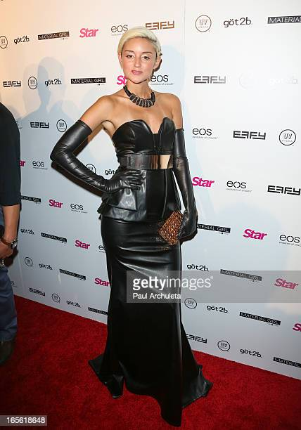 Actress Caroline D'Amore attends Star Magazine's 'Hollywood Rocks' party at Playhouse Hollywood on April 4 2013 in Los Angeles California