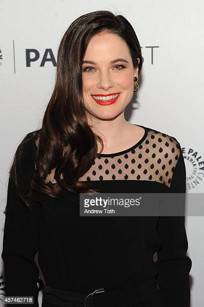 Actress Caroline Dhavernas attends the 2nd annual Paleyfest New York presents 'Hannibal' at Paley Center For Media on October 18 2014 in New York New...