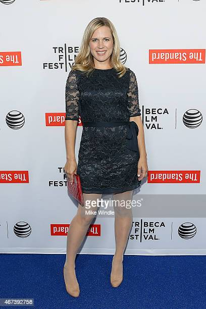 Actress Caroline Lesley attends the 2015 Tribeca Film Festival LA Kickoff Reception at The Standard Hollywood on March 23 2015 in West Hollywood...
