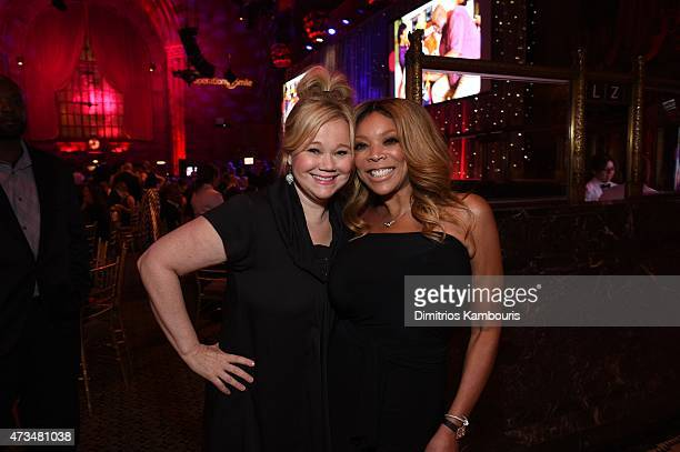 Actress Caroline Rhea and TV Host Wendy Williams appear at the 13th Annual Operation Smile Event Hosted By Kate Walsh With Special Guest Eli Manning...