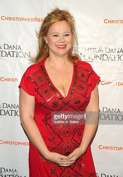 Actress Caroline Rhea attends the Christopher Dana Reeve Foundation 19th Annual 'A Magical Evening' Gala at the Marriott Marquis on November 9 2009...