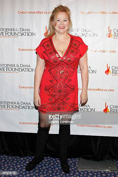 Actress Caroline Rhea attends the Christopher Dana Reeve Foundation's 'A Magical Evening' Gala at the Marriot Marquis on November 9 2009 in New York...