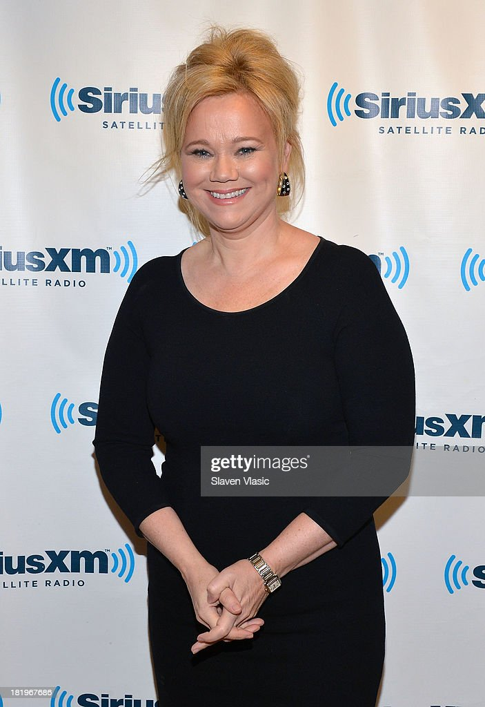 Actress <a gi-track='captionPersonalityLinkClicked' href=/galleries/search?phrase=Caroline+Rhea&family=editorial&specificpeople=215030 ng-click='$event.stopPropagation()'>Caroline Rhea</a> visits SiriusXM Studios on September 26, 2013 in New York City.