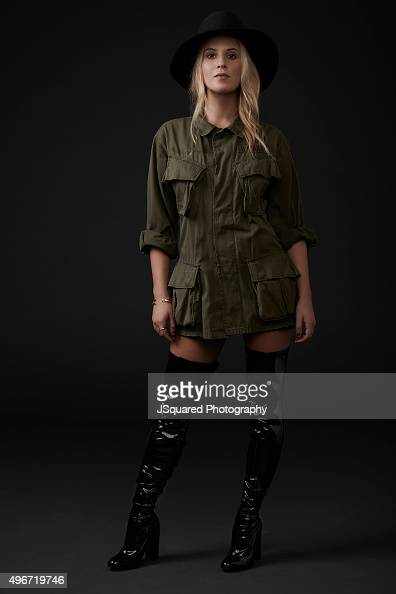 Actress Caroline Sunshine is photographed for Self Assignment on October 9 2015 in Los Angeles California