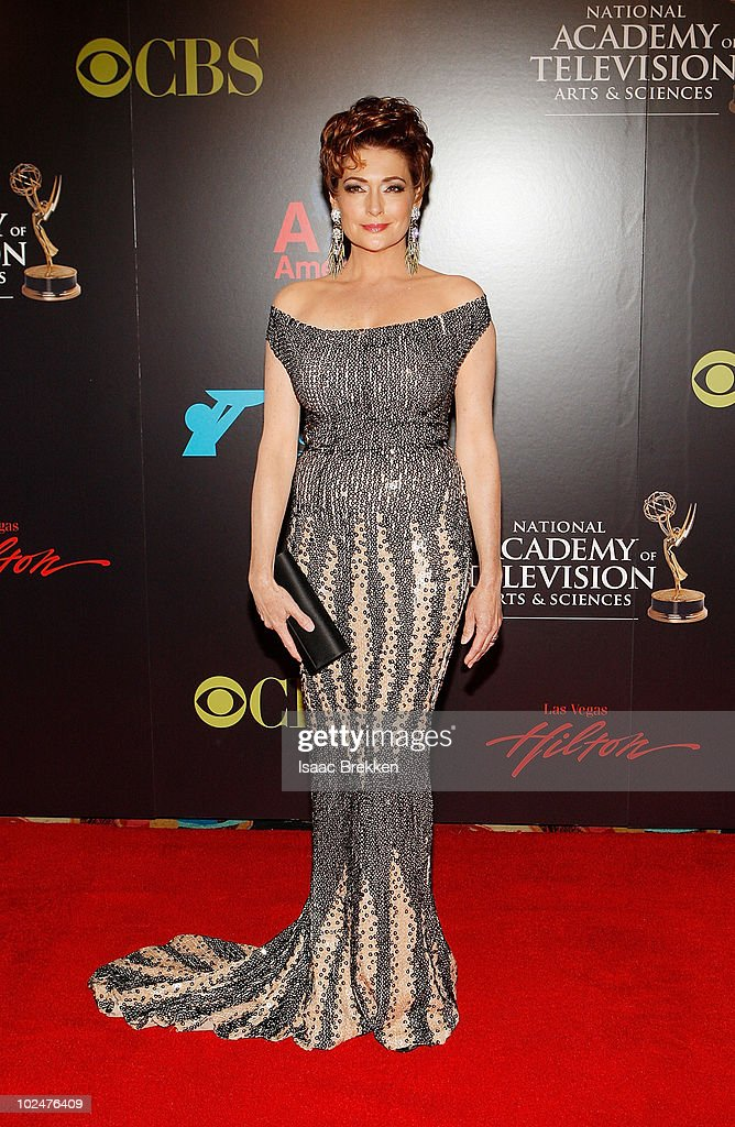 Actress Carolyn Hennesy arrives at the 37th Annual Daytime Entertainment Emmy Awards held at the Las Vegas Hilton on June 27, 2010 in Las Vegas, Nevada.