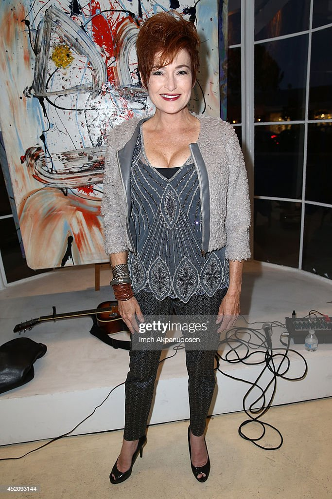 Actress <a gi-track='captionPersonalityLinkClicked' href=/galleries/search?phrase=Carolyn+Hennesy&family=editorial&specificpeople=4583821 ng-click='$event.stopPropagation()'>Carolyn Hennesy</a> attends a ZTPR Agency Summer Soiree at Gallerie Sparta on July 12, 2014 in West Hollywood, California.