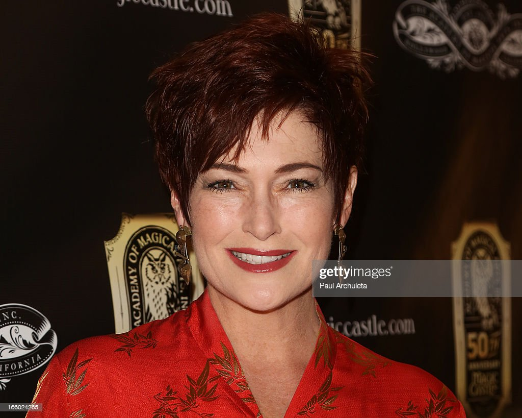 Actress Carolyn Hennesy attends the 45th annual AMA awards show at the Orpheum Theatre on April 7, 2013 in Los Angeles, California.