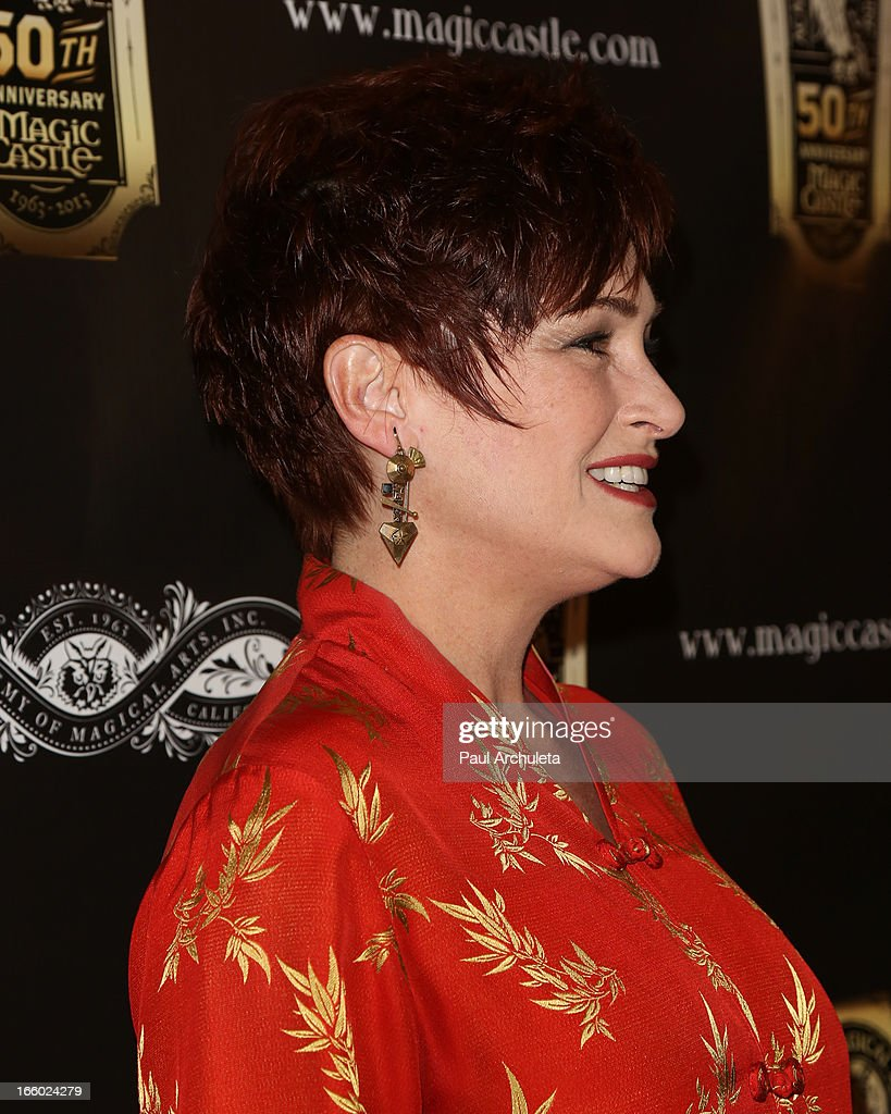 Actress <a gi-track='captionPersonalityLinkClicked' href=/galleries/search?phrase=Carolyn+Hennesy&family=editorial&specificpeople=4583821 ng-click='$event.stopPropagation()'>Carolyn Hennesy</a> attends the 45th annual AMA awards show at the Orpheum Theatre on April 7, 2013 in Los Angeles, California.