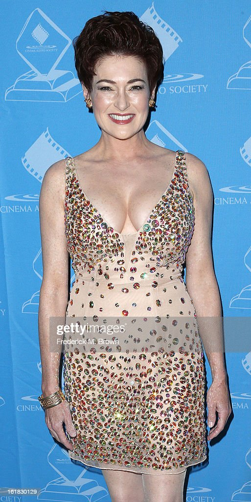 Actress Carolyn Hennesy attends the 49th Annual Cinema Audio Society Awards 'CAS' at the Millennium Biltmore Hotel on February 16, 2013 in Los Angeles, California.