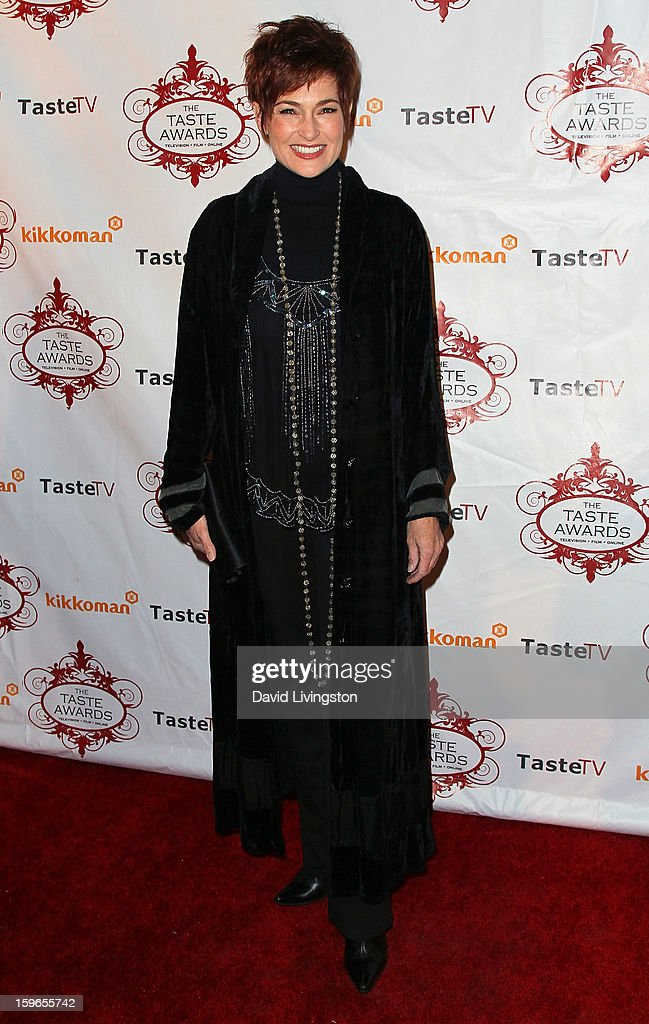 Actress Carolyn Hennesy attends the 4th Annual Taste Awards at Vibiana on January 17, 2013 in Los Angeles, California.
