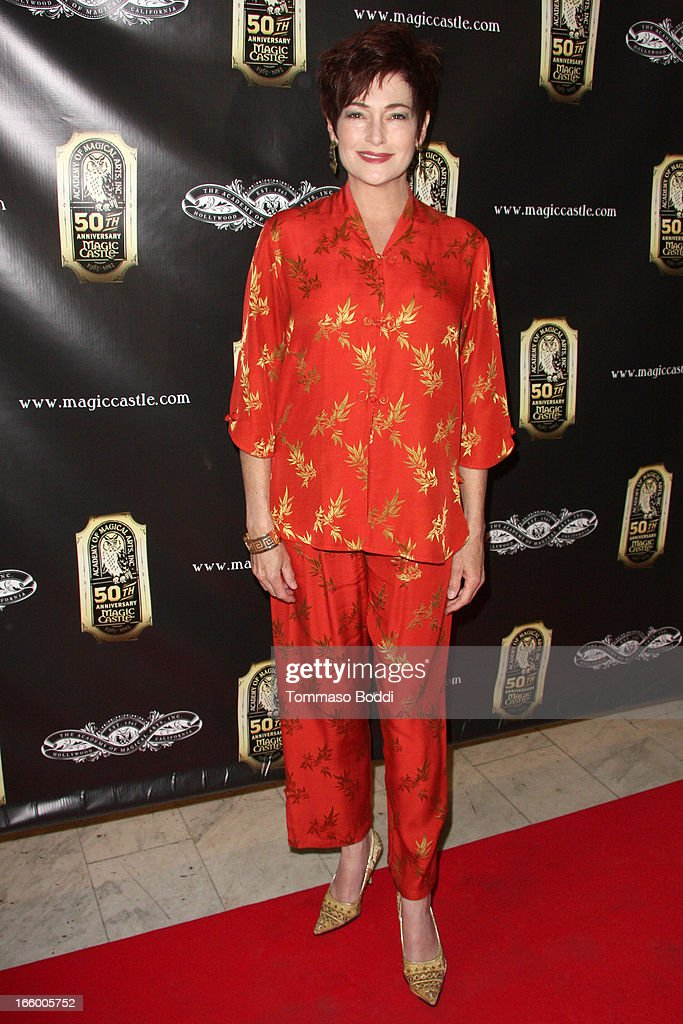 Actress Carolyn Hennesy attends the Academy Of Magical Arts 45th Annual AMA Awards Show held at the Orpheum Theatre on April 7, 2013 in Los Angeles, California.