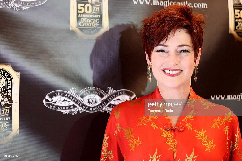 Actress <a gi-track='captionPersonalityLinkClicked' href=/galleries/search?phrase=Carolyn+Hennesy&family=editorial&specificpeople=4583821 ng-click='$event.stopPropagation()'>Carolyn Hennesy</a> attends the Academy Of Magical Arts 45th Annual AMA Awards Show held at the Orpheum Theatre on April 7, 2013 in Los Angeles, California.