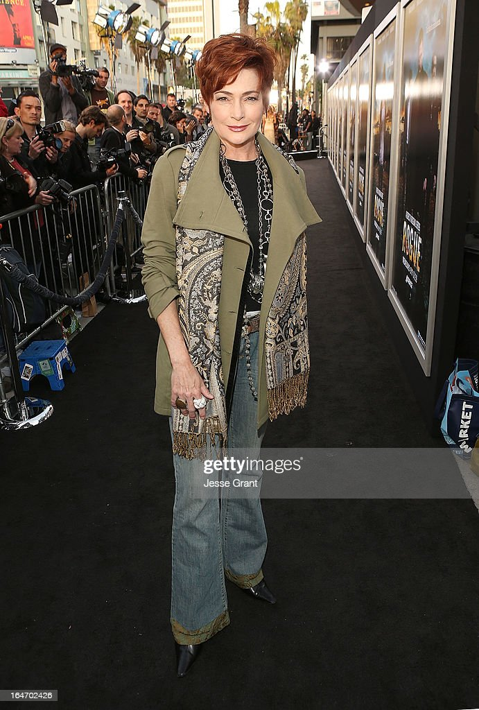 Actress Carolyn Hennesy attends the Los Angeles Premiere of Rogue at ArcLight Cinemas on March 26, 2013 in Hollywood, California.