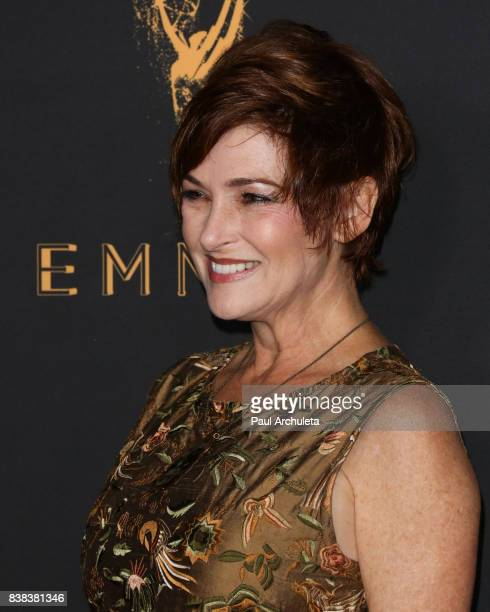 Actress Carolyn Hennesy attends the Television Academy's cocktail reception with the Stars of Daytime Television celebrating The 69th Emmy Awards at...